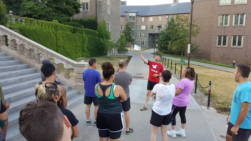 Fifteen incoming student veterans participated in the Warrior-Scholar Project on Cornell's campus this summer.
