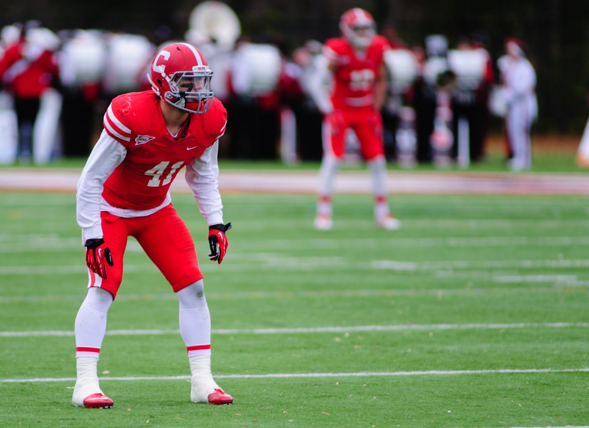 Sophomore safety Nick Gesualdi and the Red's secondary will hope to continue the success the team found last week against Bucknell in Saturday's game against Yale.