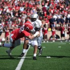 Cornell's defense locked down Yale on Saturday, forcing four turnovers on the day.