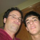 Columnist Jack Jones '18 and his father, who once confiscated his iPod in 8th grade, circa 2010.