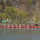 The women's rowing team used the fall season to fine tune its technique in advance of the busier spring season.