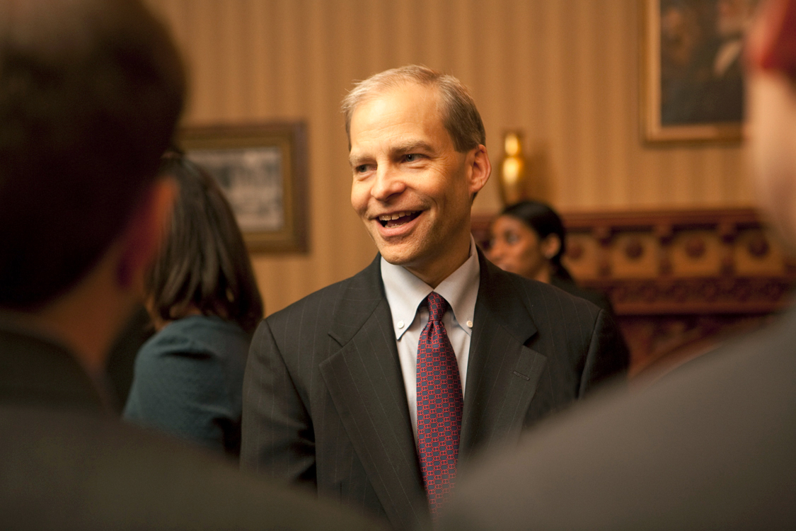 H. Fisk Johnson '79 donated $150 million — the largest single gift ever to the Ithaca campus — to endow the Cornell SC Johnson College of Business.