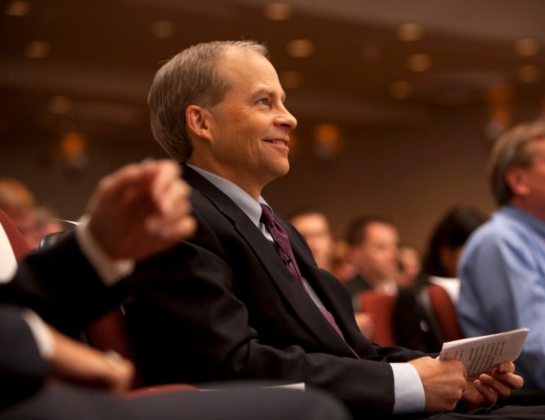 H. Fisk Johnson '79, the CEO of SC Johnson who gave $150 million to endow the College of Business in 2017.