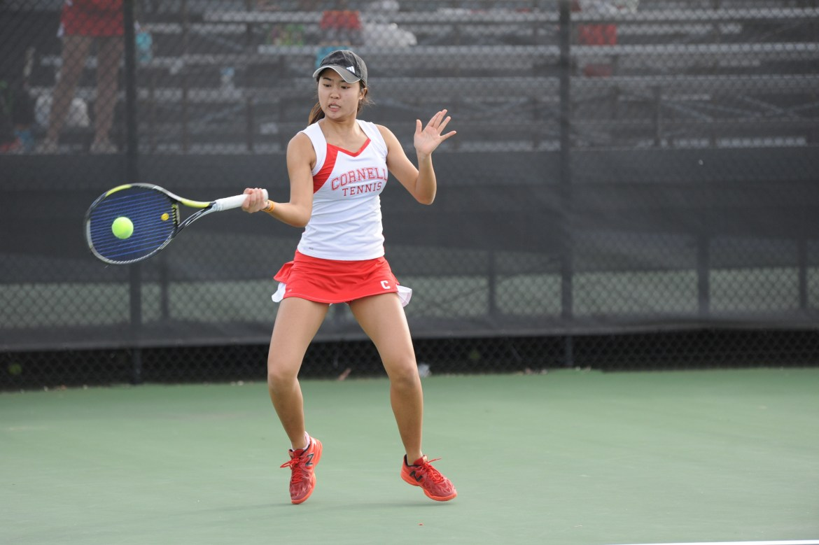 Women's tennis will head to Cambridge this weekend for ECAC Indoor Championships.