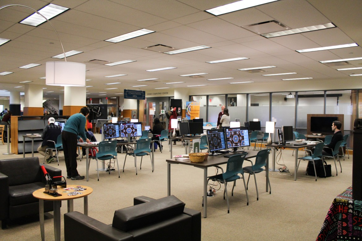 Mann Library hosts an Open House to unveil their new Consultation Area.