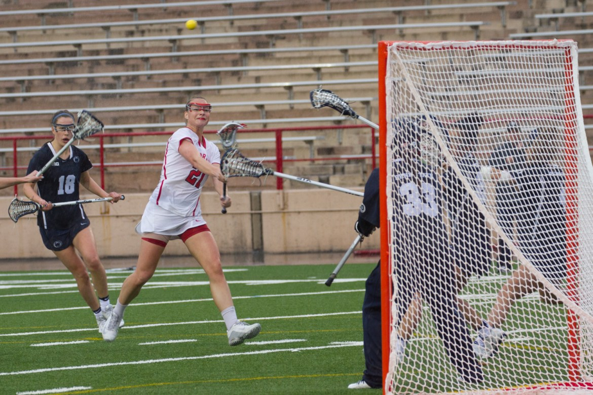 The women's lacrosse team is red hot coming off it's fourth straight victory after defeating a top-five opponent.