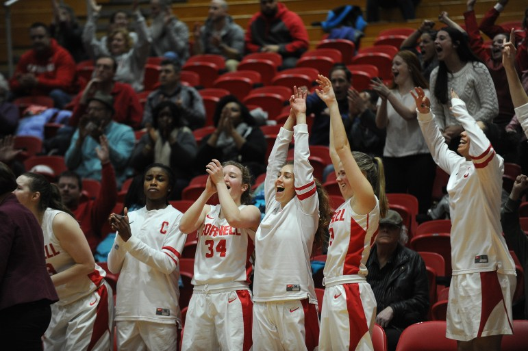 Women's Basketball vs. Brown University at Newman Arena on March.4 2017 (Cameron Pollack/ Sun Photography Editor)