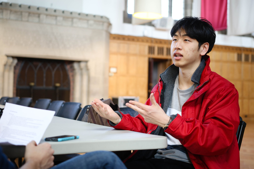 Newly elected S.A. President Jung Won Kim '18 sat down with The Sun to detail his plans for the future.