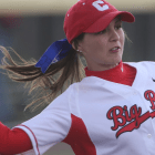 Two games were cancelled, but softball went on to split the Mason Cherry Blossom Classic with win over Akron, loss to George Mason.