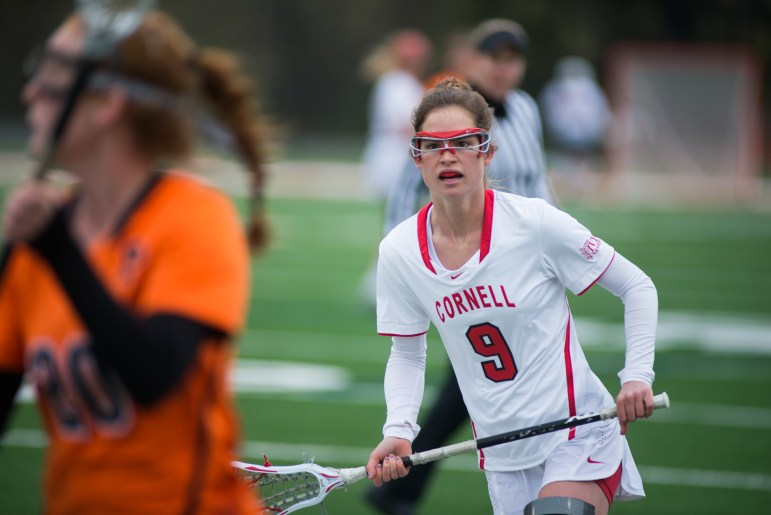 Women's Lacrosse suffers a loss against Princeton on Saturday.