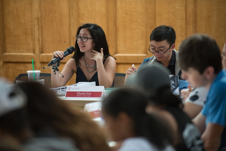 Julia Montejo '17, vice president for diversity and inclusion, said it was important that the assembly support Thursday's resolution and others brought forward by student groups because S.A. does not fully reflect the diversity of Cornell's student body.