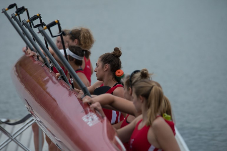 Cornell Women's Varsity Rowing competes in their Senior Day matchup versus Dartmouth College on Saturday April 29th, 2017