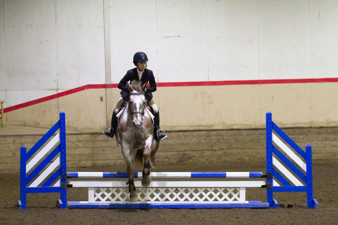 Three riders will compete individually at nationals.