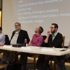 Panelists at Christianity And/Or/Versus Homosexuality