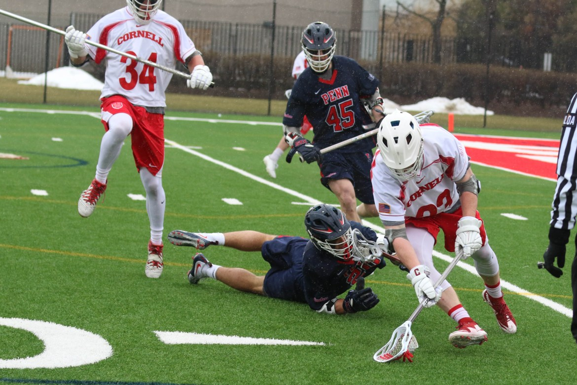 Cornell is no longer winless in league play.