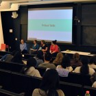 Professors speak about the obstacles women face in STEM at a panel discussion hosted by WICC Tuesday.