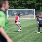 Cornell's record against Syracuse now sits at 0-9-2. Pictured is Kennedy Yearby playing in the Syracuse games last year.