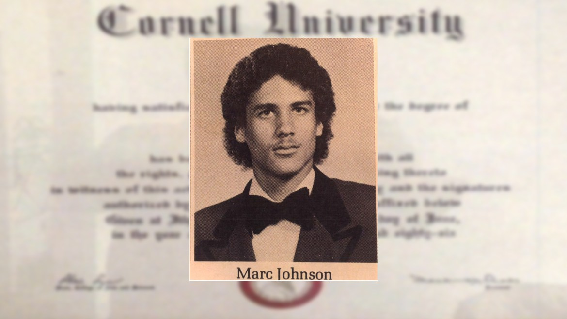 Marc Henry Johnson '86, a television producer, was sentenced last week to a year in prison for his role in a former Weill Medical College professor's death.