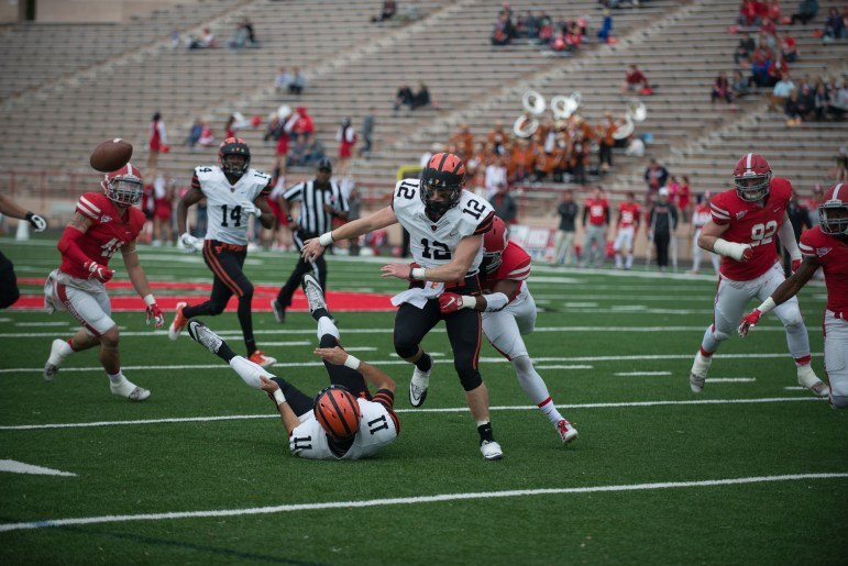 John Lovett had seven touchdowns against Cornell last year in a blowout loss for the Red.