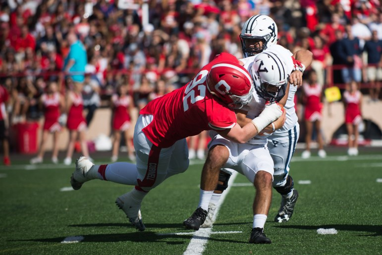 Cornell gave its fans quite the game to watch on Homecoming, defeating Yale 27-13.