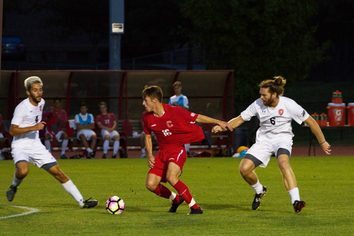 George Pedlow's second half goal helped Cornell start its season off with a 2-2 draw.