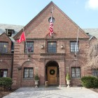 """The former Psi Upsilon house, currently under renovation, will be used by student organizations that """"are dedicated to promoting a diverse and inclusive student community,"""" the University announced Tuesday."""