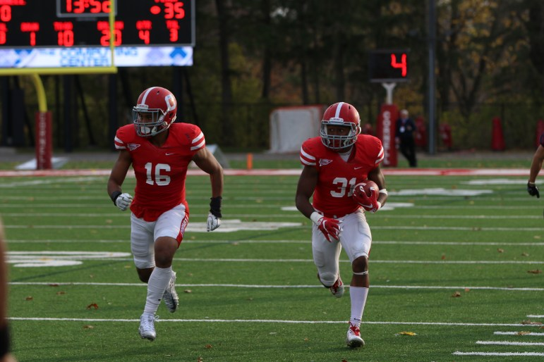 Justin Solomon (left) and DJ Woullard (right) are poised to contribute daily to the Red's secondary.