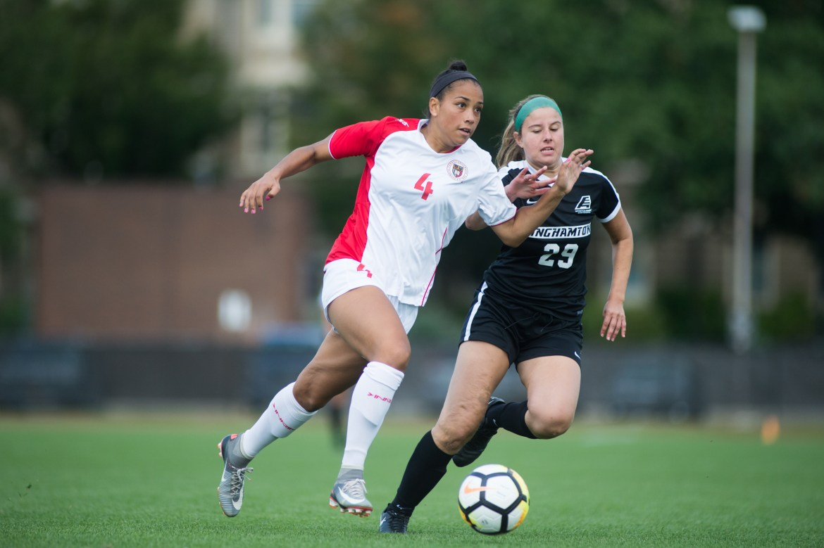 Cornell fell to Binghamton, 0-2, last weekend.