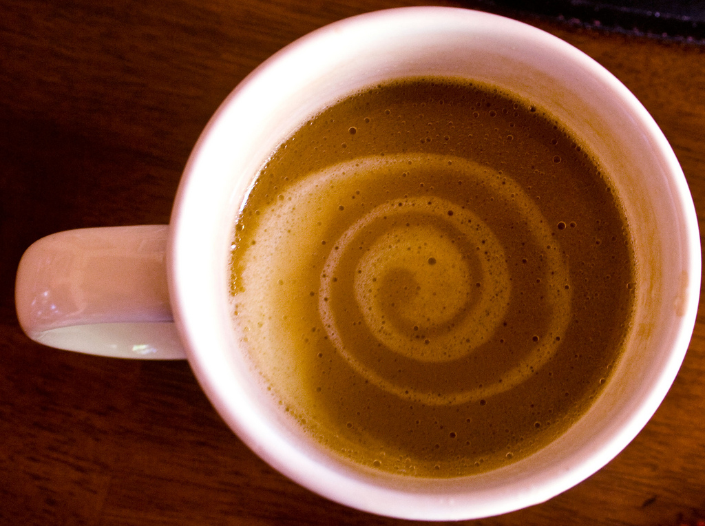 Cornell research found a connection between caffeine and the type of food that is chosen after consuming caffeine.