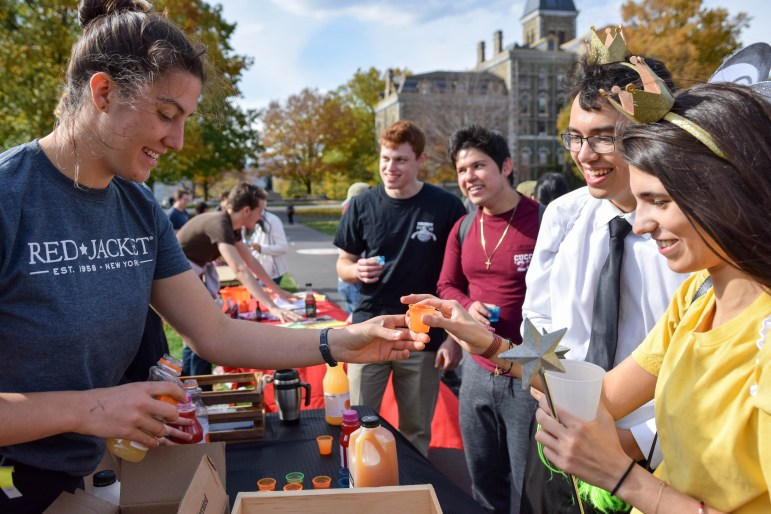 Fall Fest at the Arts Quad on October 28th, 2017. (Boris Tsang/Staff Photographer)