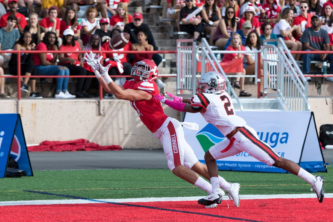 The passing game will be key for Cornell this weekend in Princeton.