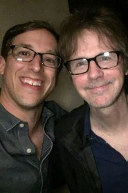 Josh Greenbaum '01 and Dana Carvey