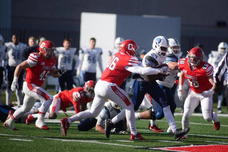 Columbia bounced back from two straight losses to remain in the hunt of an Ivy title, while Cornell is left hoping for next year.