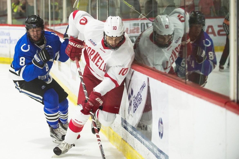 Cornell swept Alabama-Huntsville last weekend to open the season.
