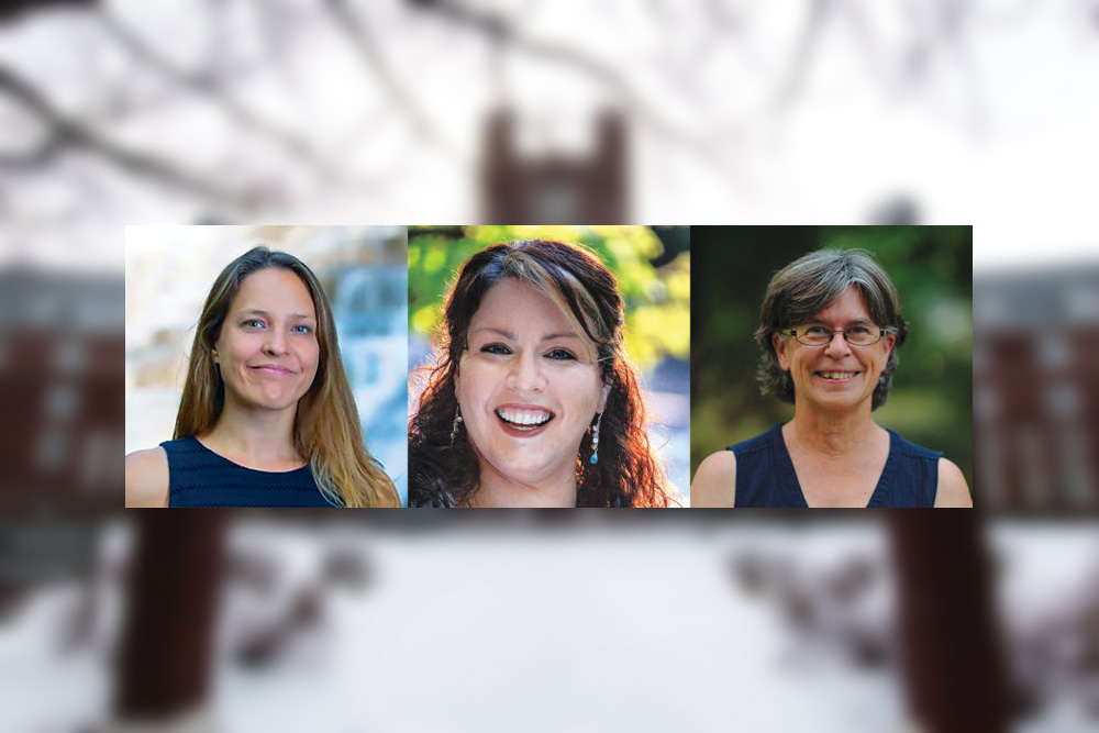 Melissa Hall, Aryeal Jackson and Laura Lewis will be contesting in Tuesday's election for representation of the Fifth Ward, which includes portions of North Campus.