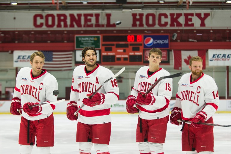 Cornell's four captains have led a team with a new mindset in the 2017-18 season, already off to its best start in nearly 50 years.