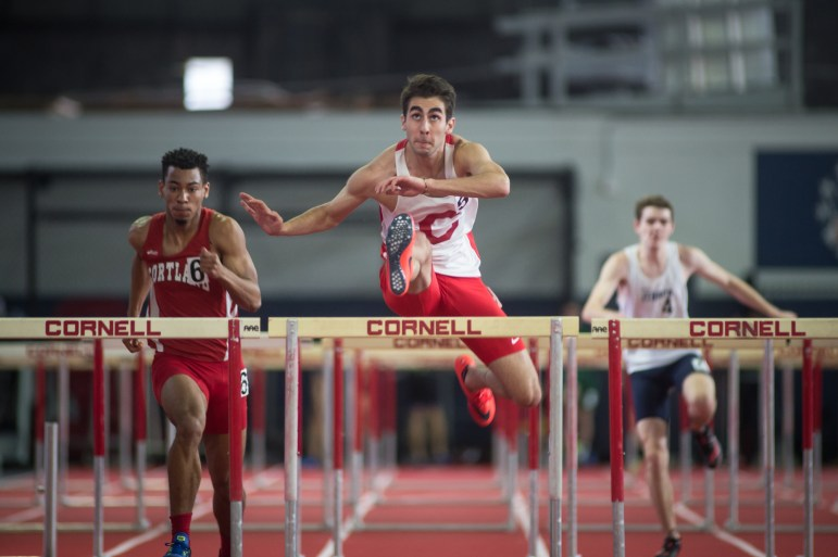 The Cornell men's track team played host to over 20 teams and 700 athletes on Saturday in Barton at the Robert J. Kane Invitational and the Big Red came away with five event wins and more than 20 top five event finishes.