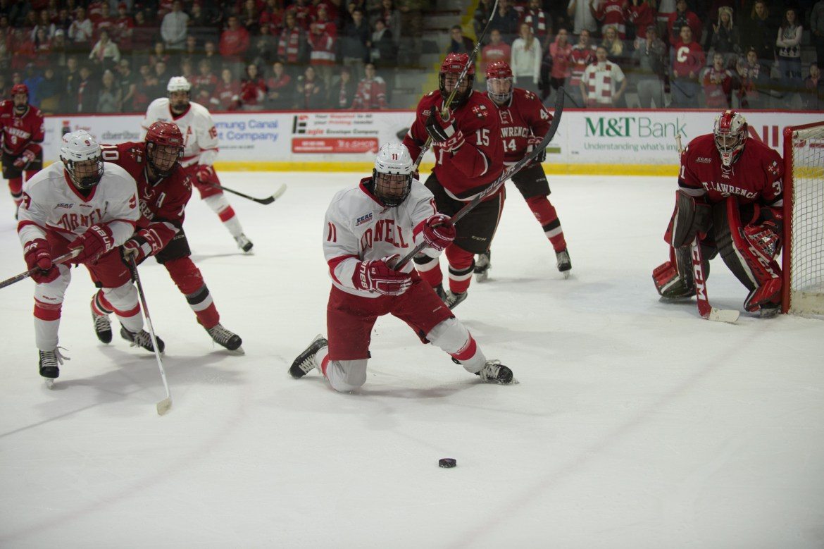 Freshman forward Kyle Betts has been among his class's biggest contributors for the Red this season.