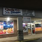 Ithaca Police and shop owners searched the Quik Shoppe on Sunday night after it was robbed by a man wielding a gun, according to Ithaca Police.