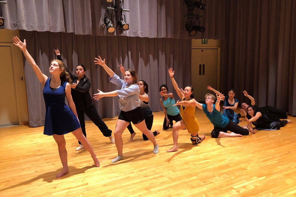 Given 24 straight hours, students wrote, directed, produced, and performed themed plays during Festival 24 Saturday night at the Schwartz Center for Performing Arts.
