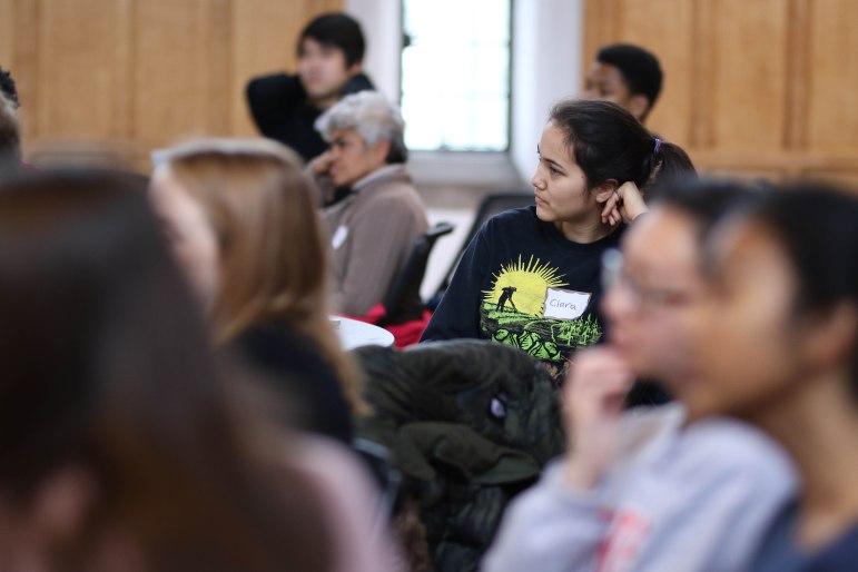 The Cornell Environmental Collaborative (ECO) held its annual Leadership Summit at Willard Straight Hall on Saturday. (Michael Wenye Li/Sun Assistant Photography Editor)