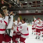 The Red clinched its second consecutive Ivy League title this weekend with a victory over Yale.