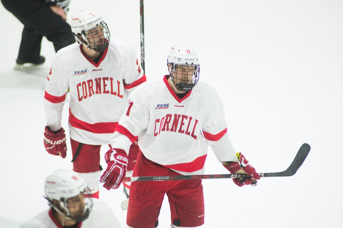 The Red will look to rebound from a surprise loss to Rensselaer this weekend as it takes on No. 7 Clarkson and St. Lawrence.