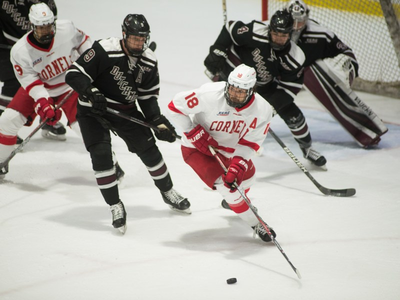 The Red looks to further boost its playoff resume in a matchup with second-place No. 19 Union.