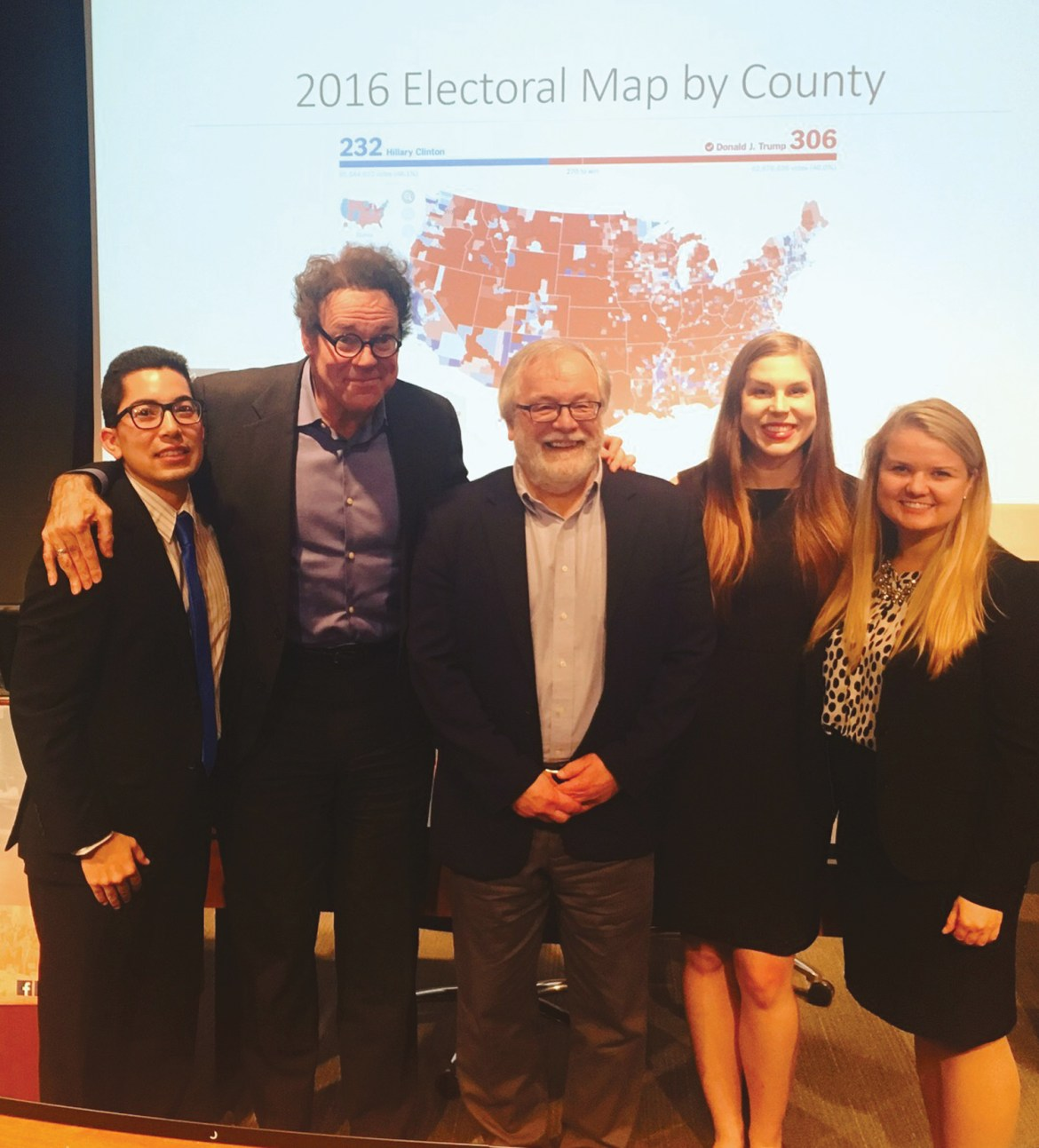 Two law professors debated the merits of the Electoral College and it's place in today's world.