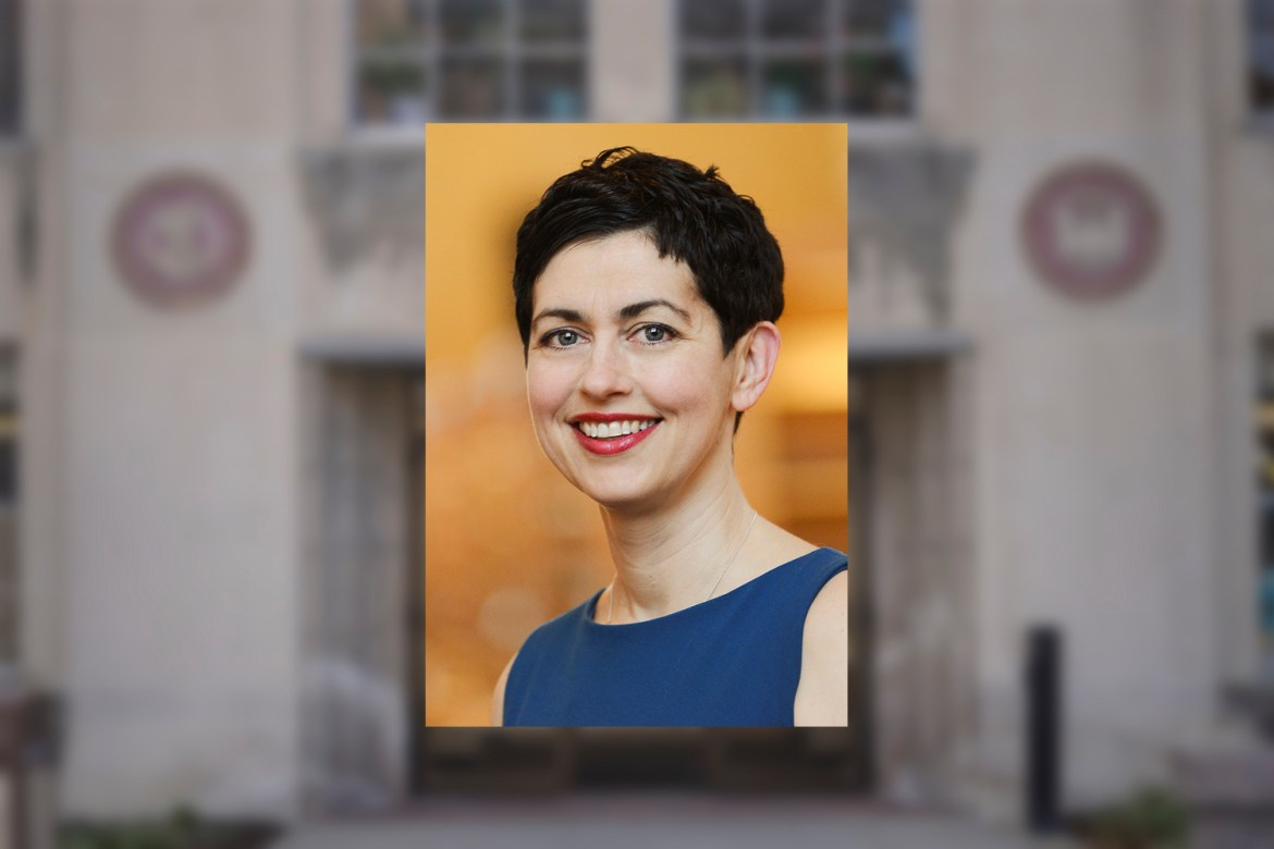 Vice provost of international affairs Laura Spitz, pictured, is resigning from her office to join the law faculty at the University of New Mexico.