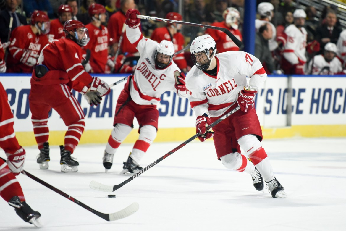 The Red's season came to a disappointing end in the first round of the NCAA tournament against B.U.
