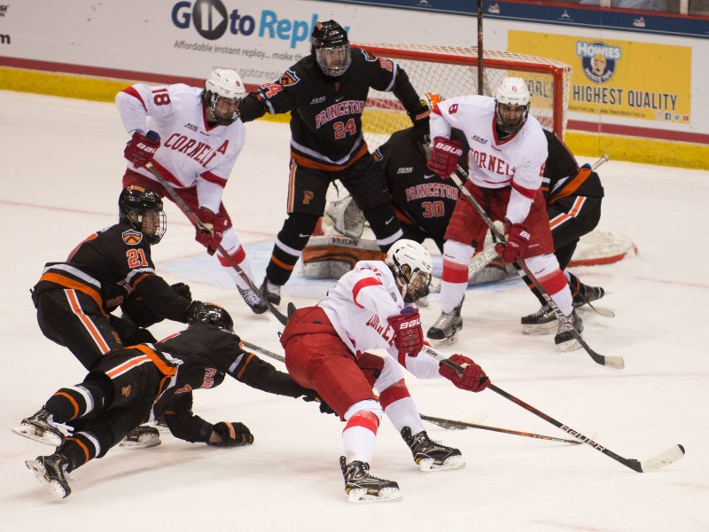 No. 1 seed Cornell lost to No. 4 seed Princeton in the ECAC semifinal game.