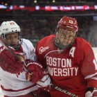 The last time Cornell and BU met, the Red earned a 4-3 Red Hot Hockey victory.