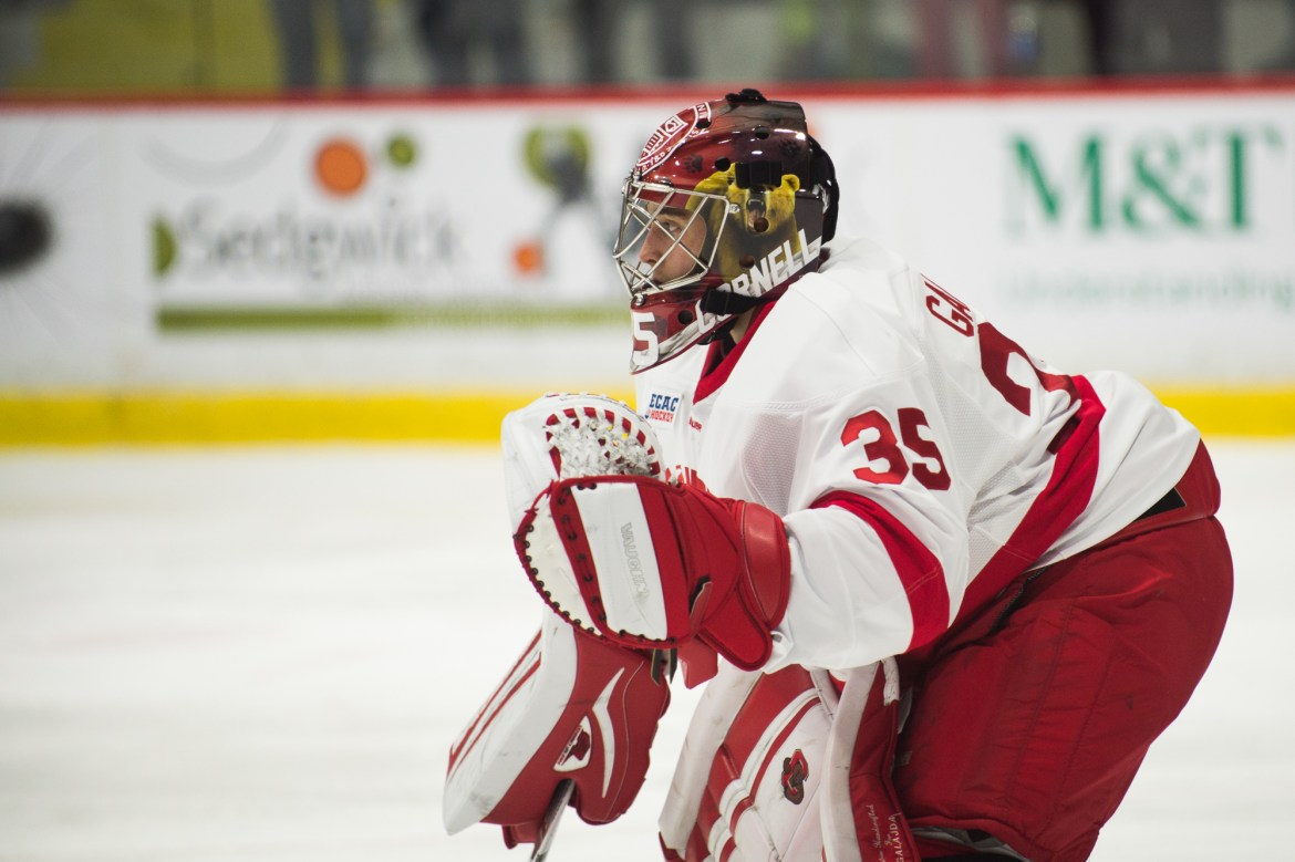 Galajda leads the nation with nine shutouts.